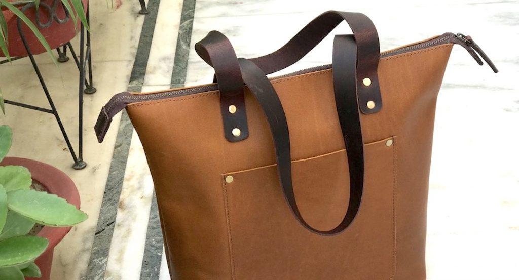 Leather Ladies Bag- ZB-LB-231 (2)